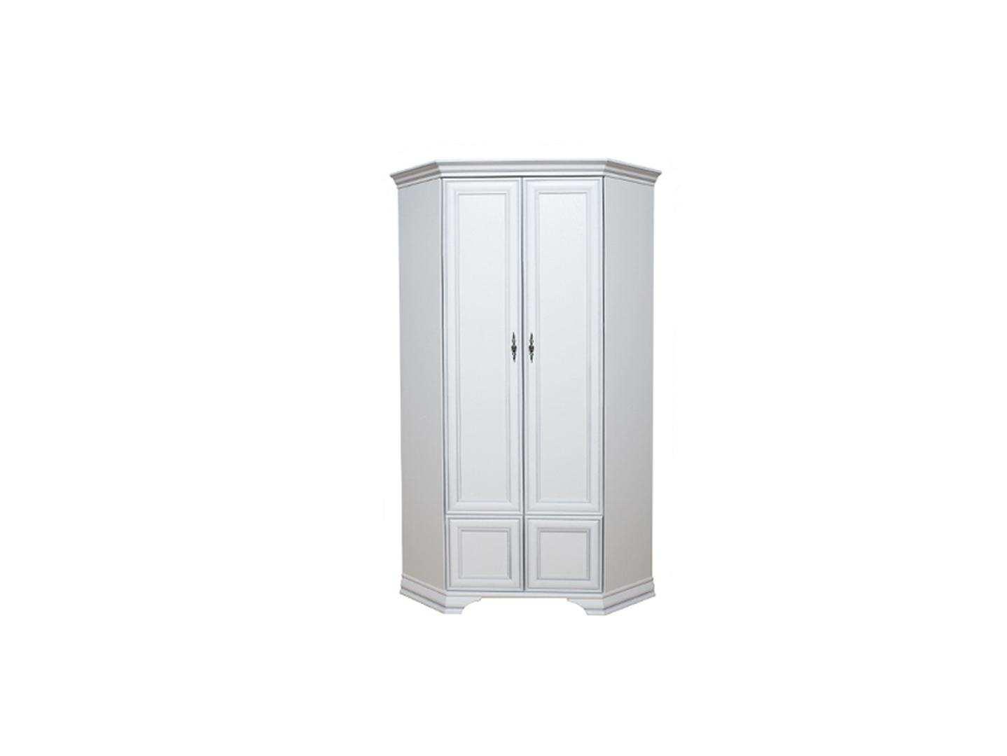 """Купить шкаф угловой """"kentaki"""", szfn2d, белый от brw в минске."""